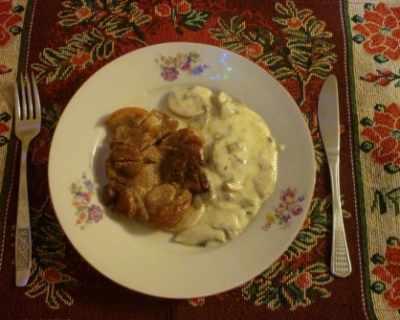 Рецепта за гъбен сос