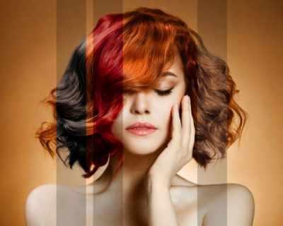 Модни нюанси за боядисвана коса