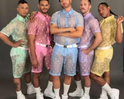 Дантелените шорти за мъже са новият спорен тренд