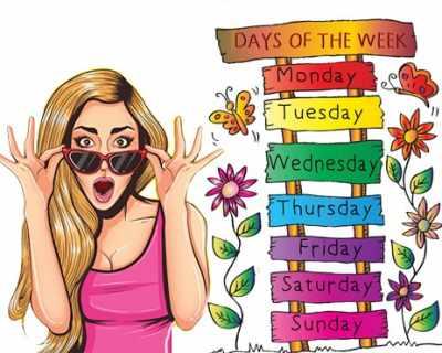 Суеверия свързани с дните от седмицата