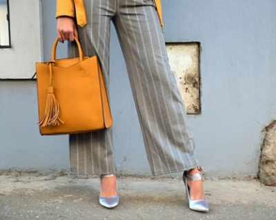 Как да носите широк панталон тази пролет?