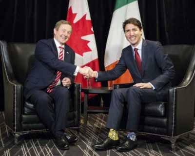 Канадският премиер Джъстин Трюдо се превърна в ...