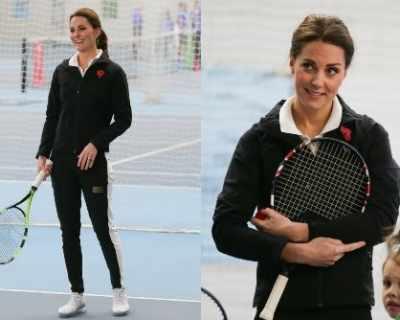 Кейт Мидълтън очарова със спортен стил