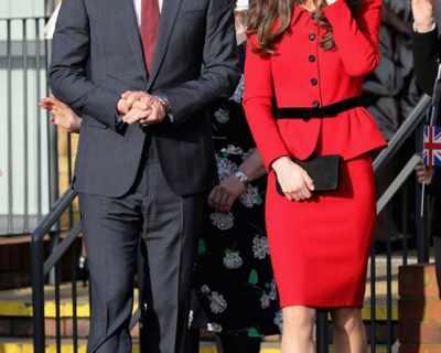 Уилям и Кейт пристигат в Париж 20 години след смъртта ...