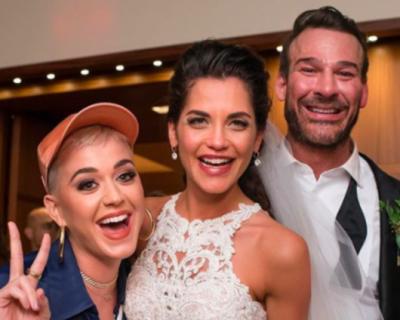 Кейти Пери изненада случайни младоженци в Мисури