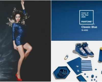 Класическо синьо, цветът на 2020 - как да го носите?