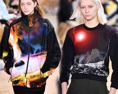 """Lacoste впечатли Ню Йорк с """"космически дрехи"""""""