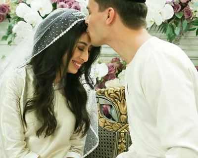 Дъщерята на малайзийски султан се омъжи на бляскава ...