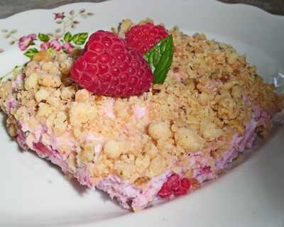 Малинов десерт