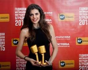 Криско и Михаела Филева обраха наградите на БГ Радио