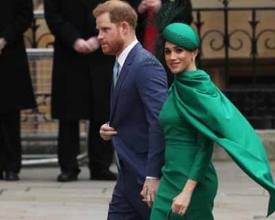 """Денят на Мегзит: Хари и Меган казват """"сбогом"""" на ..."""