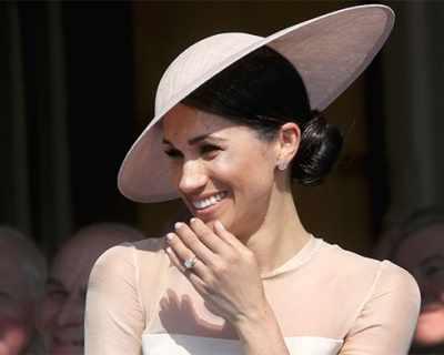 Защо Меган избухна в смях на рождения ден на принц ...