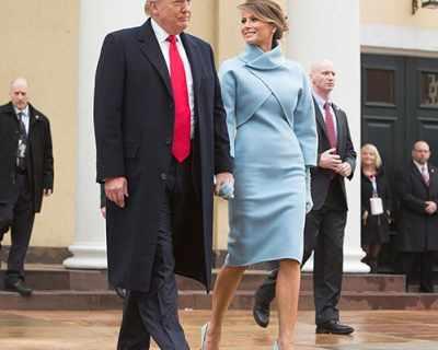 Мелания Тръмп заложи на Ralph Lauren в най-важния ден на ...