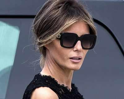 Мелания Тръмп ще бъде сама на погребението на ...