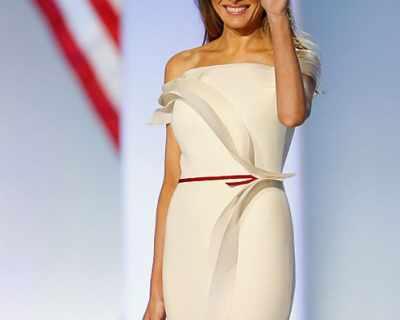 Мелания Тръмп смая модните критици с бална рокля