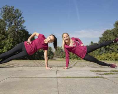 Спортът и градът: тренировка с Надя Младенова