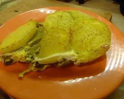 Мусака от зелен фасул