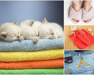 Нов живот за старите кърпи - 6 идеи