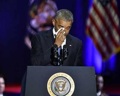 Барак Обама ни показа как се благодари