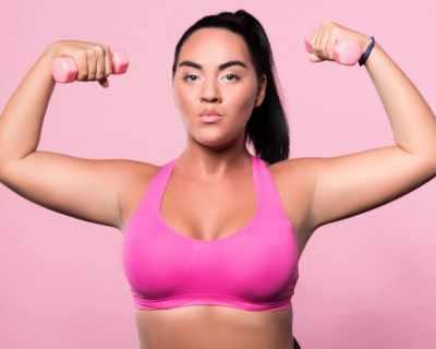 Как да не се притесняваш във фитнеса, ако си пълничка