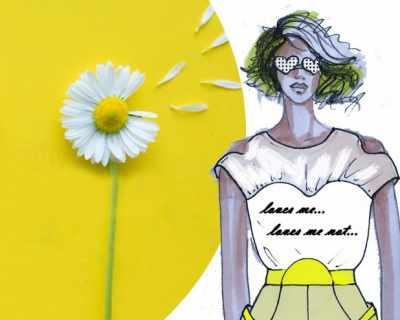 Силата на цветята при модата и красотата
