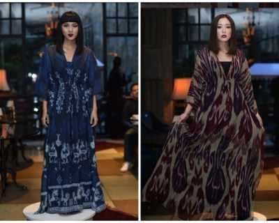 Звездата на индонезийската модна сцена Геа ...