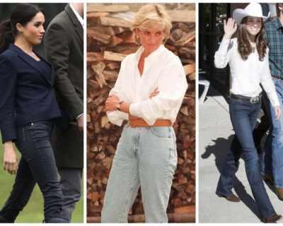 Любимите дънки на британските принцеси