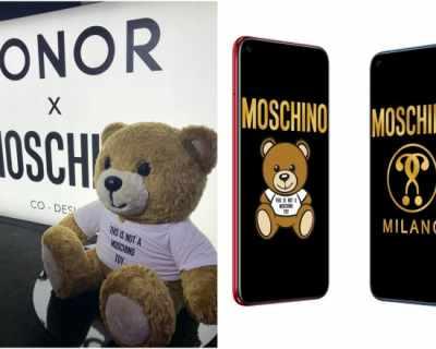 Фешън иконата на Moschino влезе в смартфона Honor View20