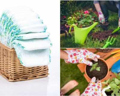 Защо и как да използвате памперси в градинарството?