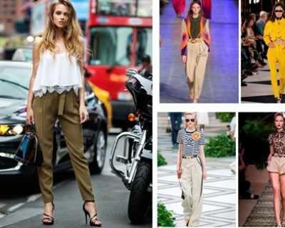 Панталони - 5 актуални модела за лятото