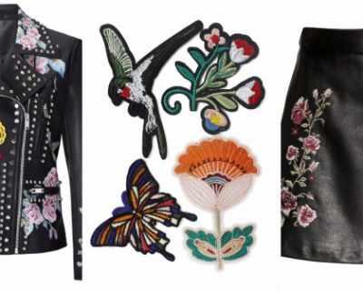 Уикенд вдъхновение: цветя върху кожа