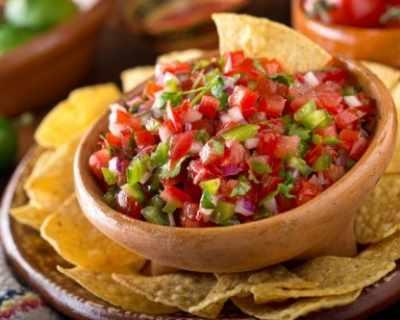 Рецепта за пико де гайо - мексиканска салца