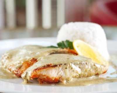 Пилешки филета с горчица и естрагон