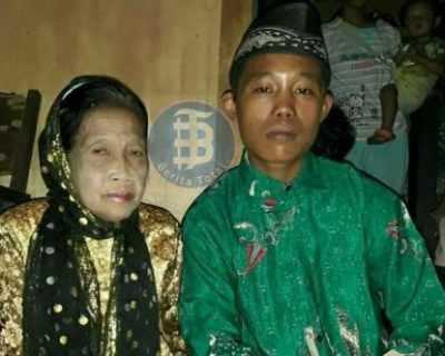 Индонезийски тийнейджър се ожени за 73-годишна жена