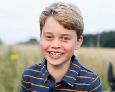 Принц Джордж празнува 8-ми рожден ден