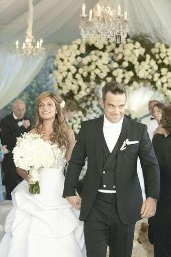 Сватбата на Роби Уилямс и Айда Фийлд