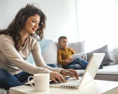 7 съвета за родители, които работят от вкъщи