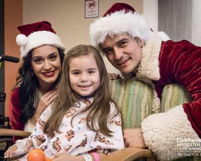 Г-н и г-жа Коледа: Орландо Блум и Кейти Пери ...