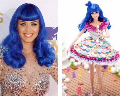 Звездите в ролята на кукла Барби