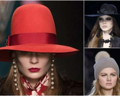 Кои са модерните шапки тази зима?