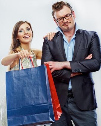Защо мъжете лъжат жените си по време на шопинг?