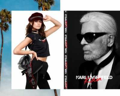 Карл Лагерфелд и Кая Гербер пуснаха в продажба ...