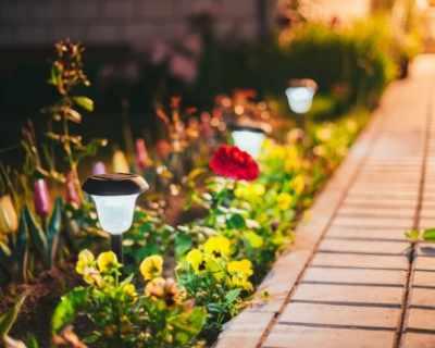 Соларно осветление за балкона и градината