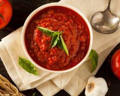 Рецепта за сос Маринара с домати от консерва