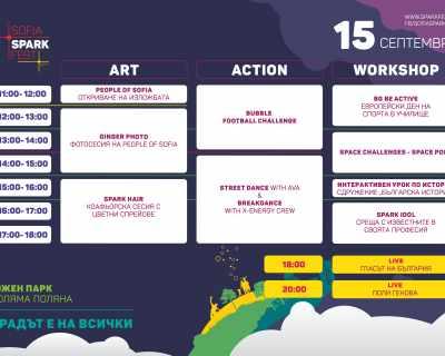 SOFIA SPARK FEST – забавният начин да научиш нови неща