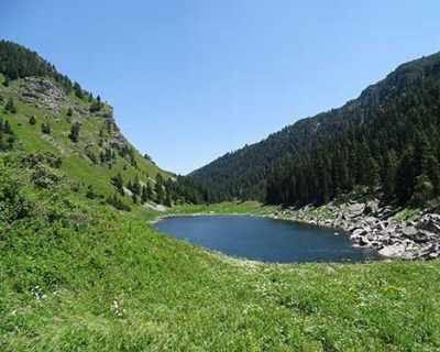 До Сухото езеро по пътя на поклонниците