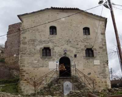 Храм на Св. Антоний Велики в Мелник цери душевно ...