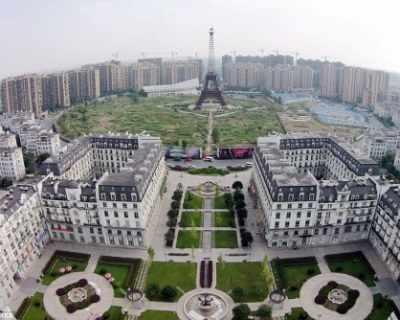 В Китай построиха умалено копие на Париж