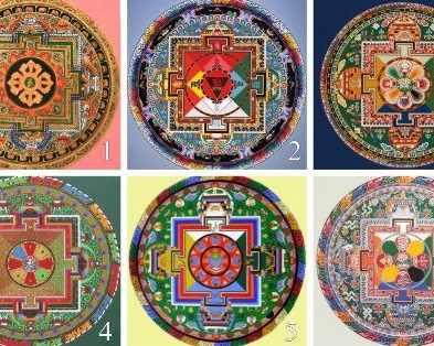 ТЕСТ: Избери тибетска мандала и научи нещо за себе си