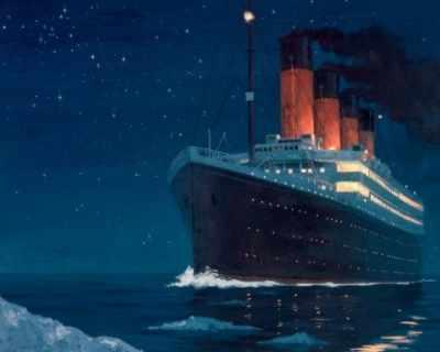 """""""Титаник"""" потънал заради пожар в трюма с въглища"""